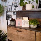 Bloc en bois à poser - Fuentes - Alpaga - Licorne