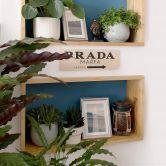 Panneau en bois Prada Marfa