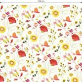 Möbelfolie Blanz - Phantastic Flowers