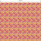 Möbelfolie, Dekofolie - abwischbar - Blumenwiese