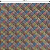 Möbelfolie, Dekofolie - abwischbar - Orientalische Kacheln 03