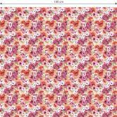 Möbelfolie, Dekofolie - abwischbar - Vintage Blüten 02