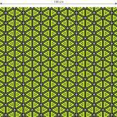 Möbelfolie, Dekofolie - abwischbar - Dreiecke 03
