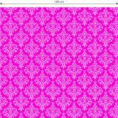 Sticker meuble, Film décoratif adhésif - lavable - Baroque rose