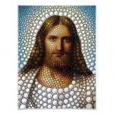 Poster Ben Heine - Circlism: Jesus Christus