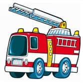 Fire Truck Wall sticker