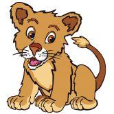 Wandtattoo King Lion