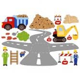 Construction Site Set Wall sticker