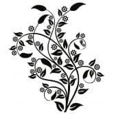 Adesivo murale - Sogno floreale 2