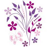 Wandtattoo Flatterinchen Violetta