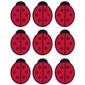 Red Ladybug Set Wall sticker