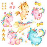 Wandtattoo The Unicorn - Set