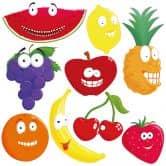 Adesivo murale - Frutti insolenti