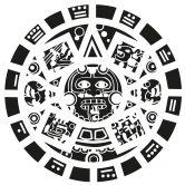Wandtattoo Maya Maske