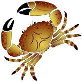 Muurstickers Krabben 2