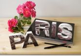 Decoratieletters   3D PARIS Letters