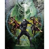 Fototapete Black Panther Collage