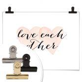 Poster Confetti & Cream - Love each other