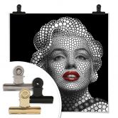 Poster Ben Heine - Circlism: Marilyn Monroe