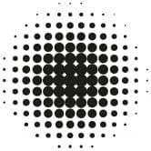Wandtattoo Kreise-Effekt