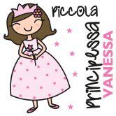 Wandtattoo + Name Piccola Principessa