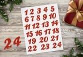 Adventskalender Set - Zahlen 01