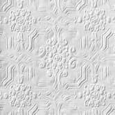 Anaglypta® Original Berkeley viktorianische Papiertapete überstreichbar, weiß