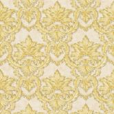 Architects Paper Tapete Luxury Classics beige, gelb, metallic