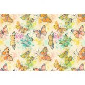 Livingwalls Fototapete Walls by Patel mosaic butterflies 1