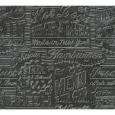 A.S. Création Tapete Kitchen Dreams metallic, schwarz