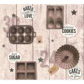 A.S. Création Tapete Kitchen Dreams braun, bunt, schwarz