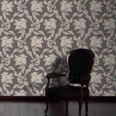 A.S. Création Strukturprofiltapete Belle Epoque beige, metallic, schwarz