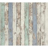 A.S. Création non-woven wallpaper Best of Wood`n Stone 2nd Edition blue, brown, white