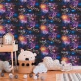 A.S. Création paper wallpaper Boys & Girls 5 multicolored, black