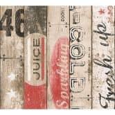 A.S. Création paper behang Boys & Girls 5 beige, rood, zwart