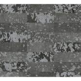 A.S. Création Tapete Saffiano schwarz, metallic
