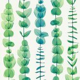 A.S. Création Tapete X-Ray grün, metallic, weiß
