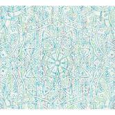 A.S. Création Behang Boho Love blauw, groen, wit