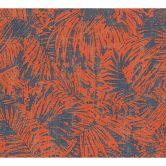 A.S. Création Tapete Borneo blau, metallic, rot