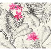 A.S. Création Carta da parati Exotic Life fiori tropicali