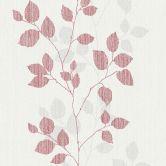 A.S. Création Vliestapete Happy Spring grau, rot,weiß