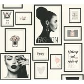 Livingwalls papier peint intissé Metropolitan Stories papier peint Lola Paris gris;noir;blanc