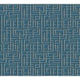 A.S. Création Vliestapete Palila blau, grau, metallic