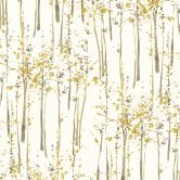A.S. Création Vliestapete Scandinavian 2 Tapete mit Baum Muster gelb, grau, weiß