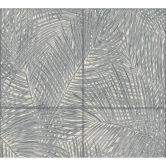 A.S. Création Vliestapete Sumatra Tapete mit Palmenblättern grau, schwarz, weiß