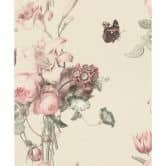 Carta da parati Barbara Home Collection Fiori rosa