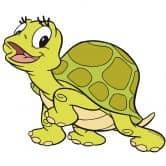 Wandtattoo Benjamin Blümchen Schildkröte Selma