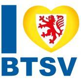 Wandtattoo Eintracht Braunschweig I love BTSV