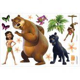 Muurstickers Junglebook Team 2
