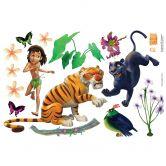 Adesivo murale - Il libro della giungla  Set 2